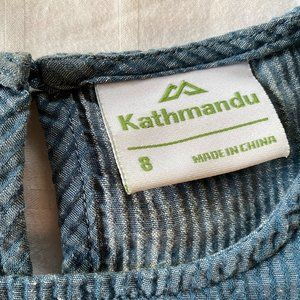 Kathmandu Sica Short Sleeve Top Organic Cotton